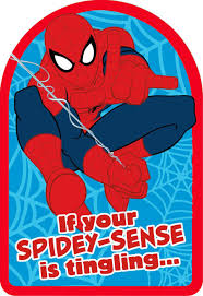 This are the basic color consistency in making personalized tarpaulin design. Spider Man Spidey Sense Birthday Card Greeting Cards Hallmark
