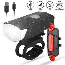 <b>USB Bicycle Lights</b> & Reflectors for sale | In Stock | eBay