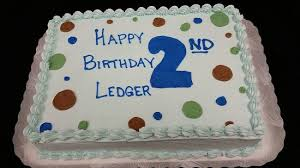 1 2 sheet double layer cake with buttercream icing all made in