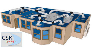 ducted air conditioning system. image of ducted air conditioning system (csk climatek) a