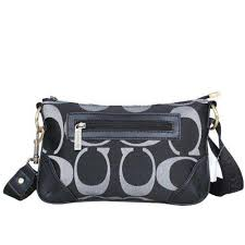 ... swingpack monogram small black crossbody bagsdpo coach swingpack  monogram small black crossbody bagsdpo  coach poppy bowknot signature medium  grey totes ...