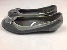 puma zandy. women\u0027s puma zandy grey slip on ballet flats shoes size 8 puma