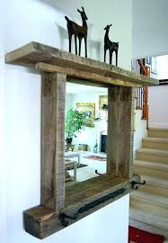 diy wood mirror frame. Reclaimed Wood Mirrors Rustic Framed Mirror Frame Awesome Ideas About On Diy Diy Wood Mirror Frame