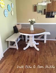 White Breakfast Nook Corner Bench Seat Kitchen Table Of With Diy Breakfast Nook White