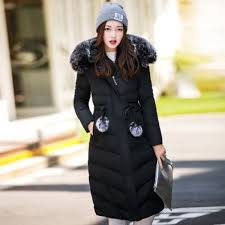 winter jacket women hooded coats black black