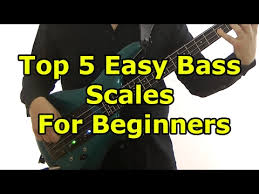 Bass Guitar Scale Chart Printable Top 5 Easy Bass Scales For Beginners