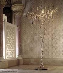 crystal chandelier floor lamp. Chandelier Crystal Lamp Antique Floor Upward Lighting Target W