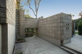 building a cinder block house frank lloyd wright s millard house for
