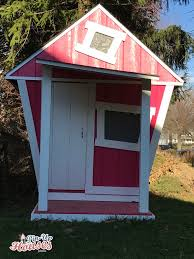 diy wooden kids playhouse plans for