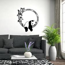 panda wall decals also cartoon sleeping panda wall sticker decor mural home decal removable home decorations bedroom wall decals kung fu panda wall decals