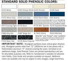 Bobrick Phenolic Color Chart Solid Phenolic Duralineseries 1080 2080 Bobrick