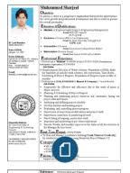 sample cv of civil engineersharjeel cv civil engineer   sample civil engineer resume