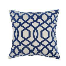 royal blue decorative pillows. Perfect Decorative Elisabeth Michael Trellis Hampton Royal Blue 20inch Decorative Pillow   Overstockcom To Pillows V