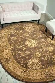 6 x 9 oval rug burdy mustard ivory braided jute