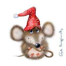 Christmas mouse | mouses | Pinterest | Mice, Christmas ...