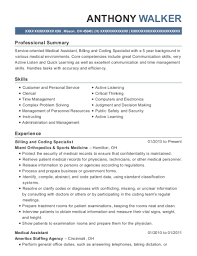 Medical Assistant Resume Summary Best Medical Assistant Resume