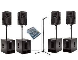 sound system rental. pa system 5 sound rental