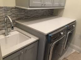 small laundry room countertop by luxury countertops