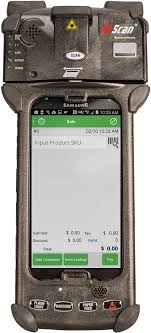 legacy n5 scan rugged hand held android puter with integrated scanner
