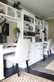 stylish home office space. One Room Challenge {ORC} Week #6: Reveal Of A Functional \u0026 Stylish Home Office- Ideas | Space Crafts, Office Makeover And Farmhouse Style