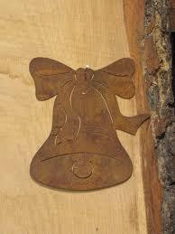 Edelrost Christbaumschmuck Glocke Angels Garden Dekoshop