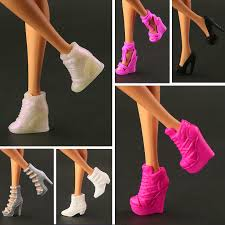 <b>2019 New</b> Black orignal <b>High heel</b> Shoes for barbie doll high quality ...