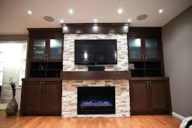 fireplace built ins electric ideas home theater contemporary with bookshelf cabinetry image by urban abode around fireplace built ins around ikea