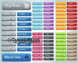 150 Free Glossy Web Buttons Download