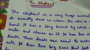 write a paragraph on the elephant in simple words easy to  write a paragraph on the elephant in simple words easy to learn and understand for children