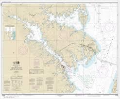 Noaa Chart Chesapeake Bay Severn And Magothy Rivers 12282