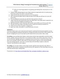 creating effective student edited self reflective essays 2