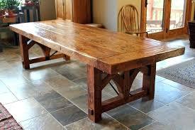 rustic wood kitchen table custom farmhouse dining table by sentinel tree rustic wood kitchen tables