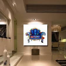Schöne Stuhl Malerei Moderne Dekoration Wandkunst Schlafzimmer Dekor