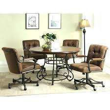 kitchen chairs with casters kitchen chairs with casters kitchen chairs with wheels dining room table chairs