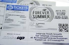 win tickets to watch closeup forever summer 2016