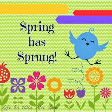 Spring Has Sprung Quotes. QuotesGram