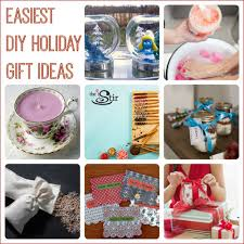 DIY holiday and Christmas gift ideas