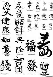 китайские иероглифы тату фото