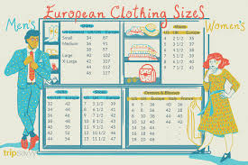 Size Chart Us To Europe Us Clothes Size Chart Conversion Coolmine Community School