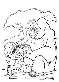 Tarzan Sad With Kala