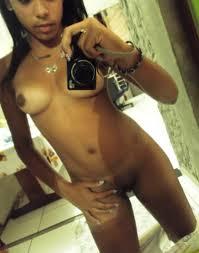 Selfie de femmes black nues et sexy
