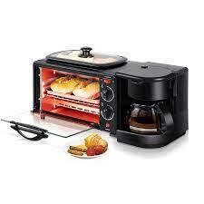 3 in 1 elektrikli kahve makinesi tost kahvaltı makinesi 220V çok  fonksiyonlu ev ekmek Pizza kızartma tavası|Kahve Makineleri