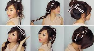 Bows In Hair Style 6 easy ribbon hairstyles youtube 5740 by wearticles.com