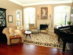 beautiful living room rug placement or what size area rug for living room medium size of