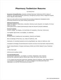 Pharmacy Technician Resume Sample Pharmacy Technician Resume Sample No Experience Resume Resume 3