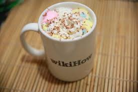 hot chocolate with marshmallows and whipped cream. Plain Marshmallows With Hot Chocolate Marshmallows And Whipped Cream