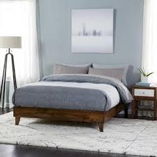 Image Bedroom Furniture Kotter Home Solid Wood Midcentury Platform Bed Overstock Buy King Wood Beds Online At Overstockcom Our Best Bedroom