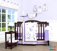purple crib bedding sets purple crib per lavender erfly baby bedding set including lamp shade solid purple crib bedding