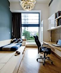 guest room and office. Ample DESIGN/Houzz Guest Room And Office