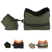 New Shooting Rear Gun Rest Bag Set Portable <b>Front & Rear Rifle</b> ...